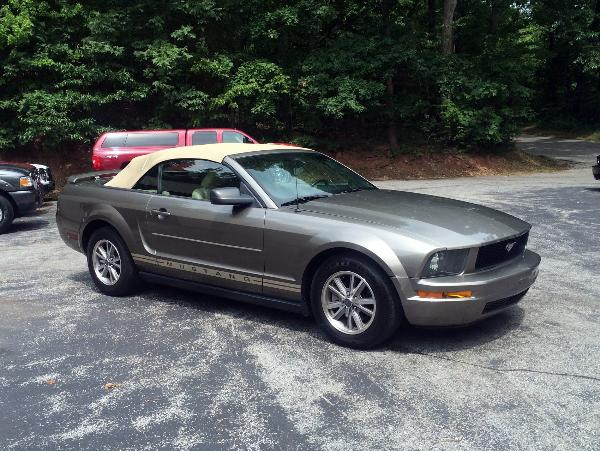 S And S Auto Sales >> 2005 Ford Mustang Convertible - Mineral Grey w/ Tan Top