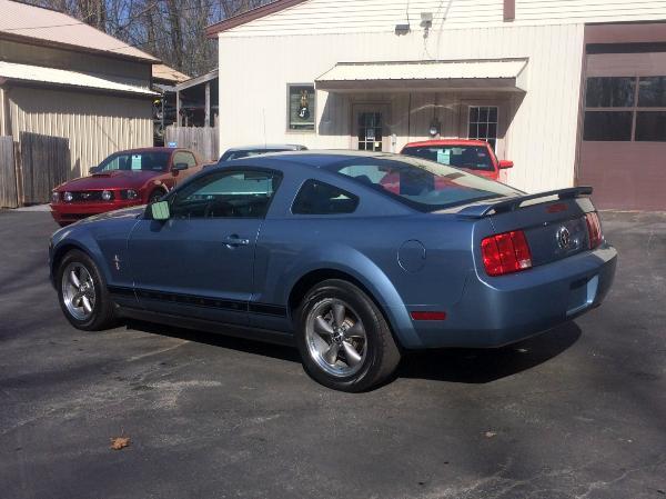 2006 Light Blue Ford Mustang V6