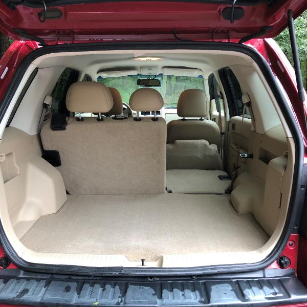 2008 Ford E150 Cargo Transmission: 2008 Red Ford Escape XLT AWD